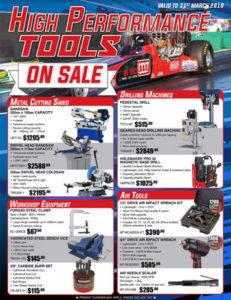 high performance tools on sale